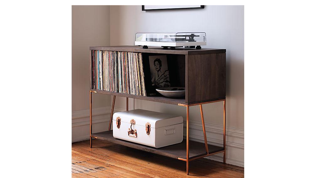 dean record cabinet-console