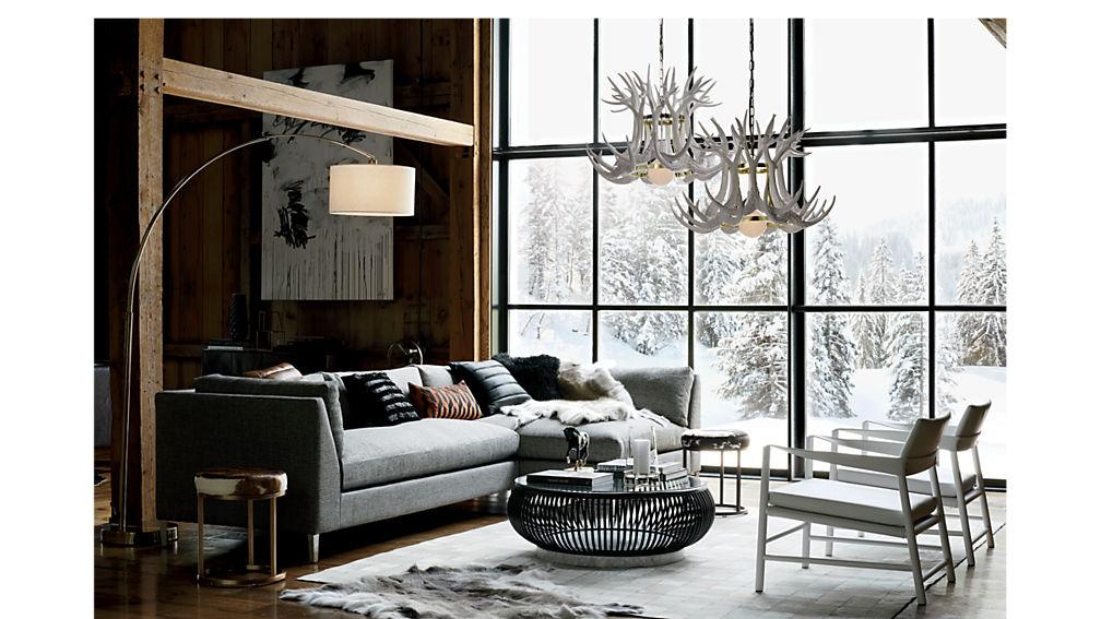 decker 2-piece sectional sofa