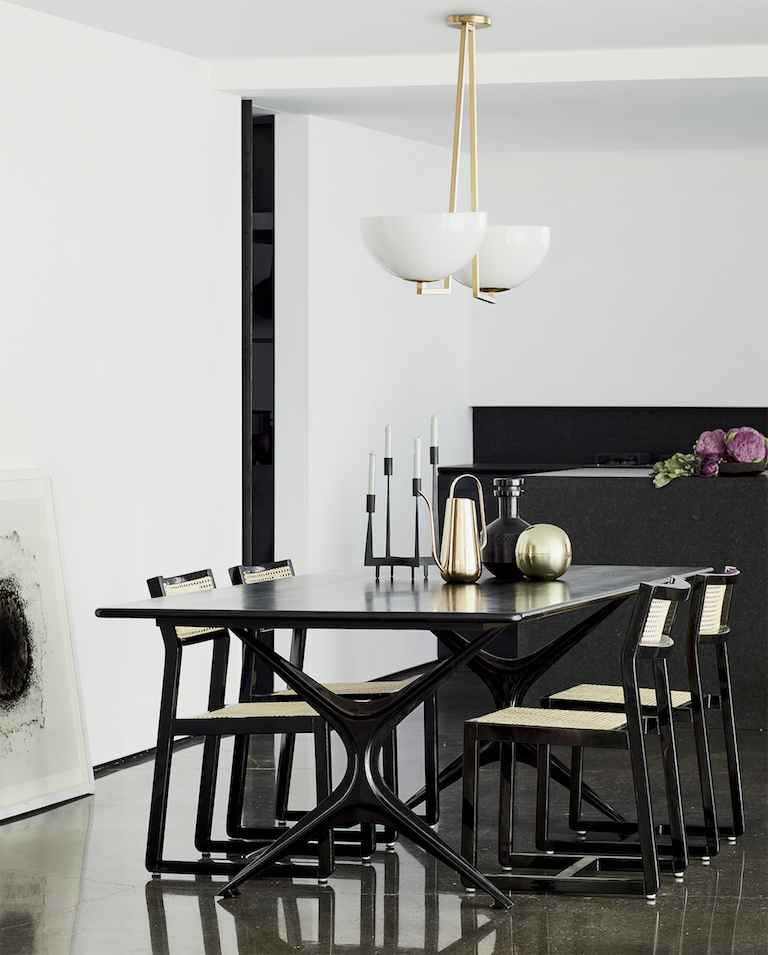 Dining Room Curtains To Create New Atmosphere In Perfect: Modern Dining Room Ideas