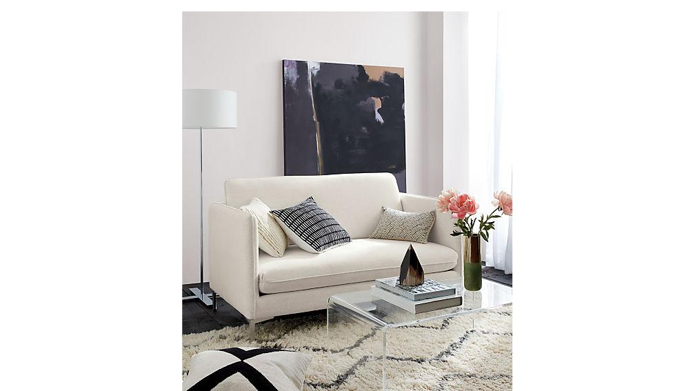 peekaboo acrylic coffee table