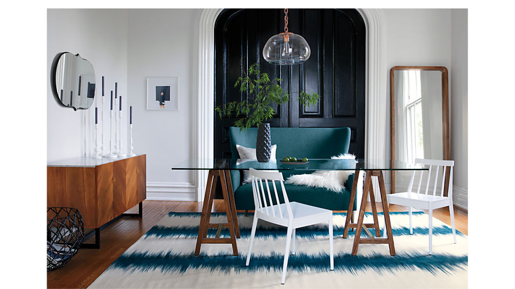 hemstad white chair