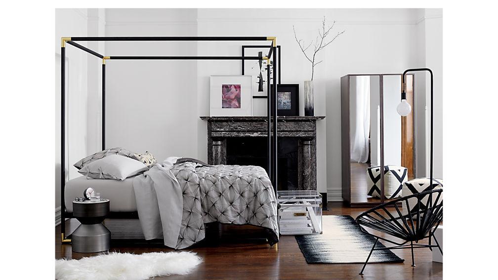Enlarge product image size  Reduce product image size. frame canopy bed   CB2