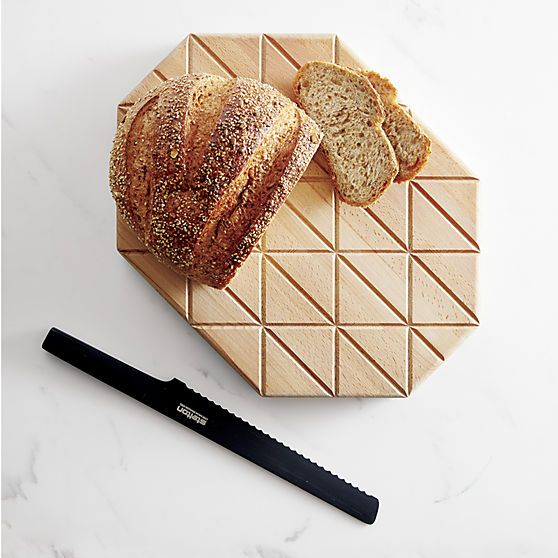 Grid Wood Cutting Board