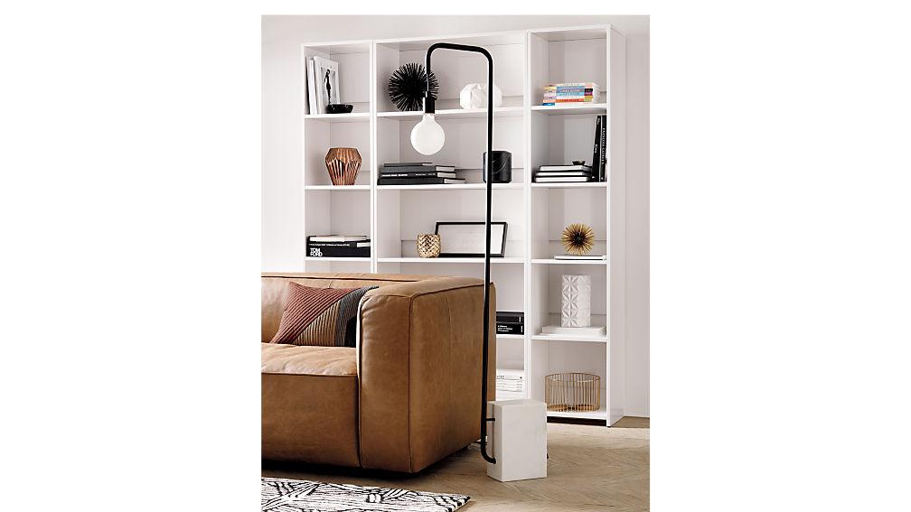 getaway wide bookcase