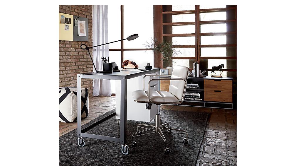 go-cart carbon rolling desk