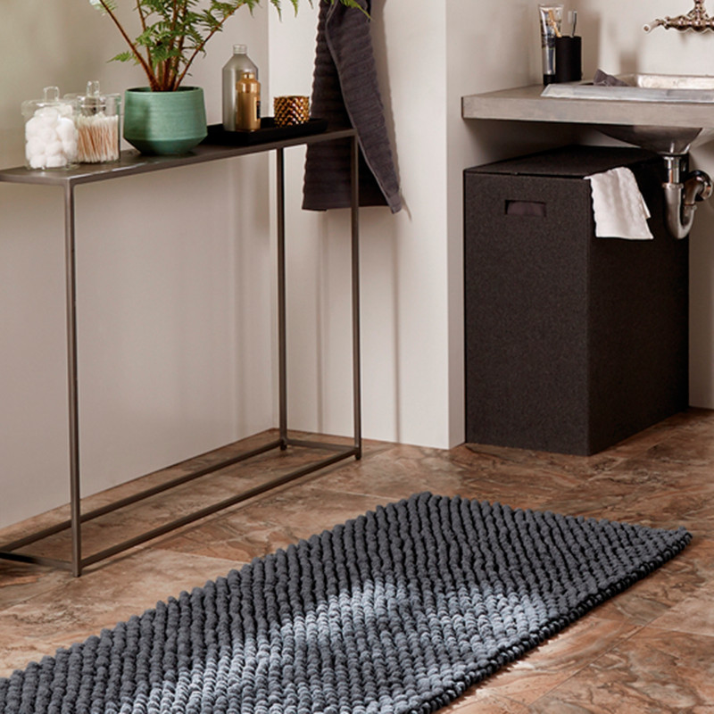 Modern Bathroom Organization Decor Ideas CB Blog - Grey bathroom mats for bathroom decorating ideas