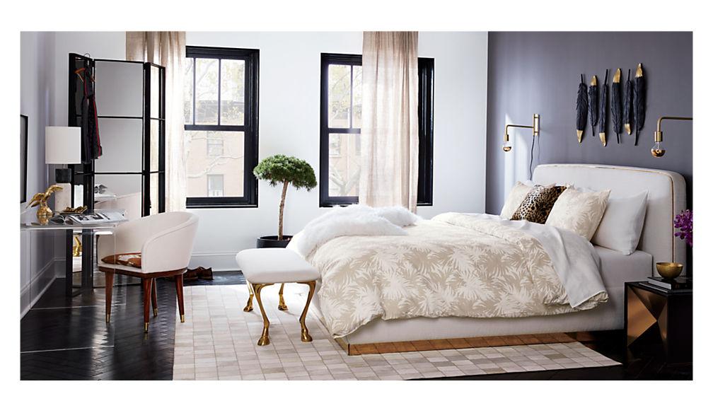 halo queen bed