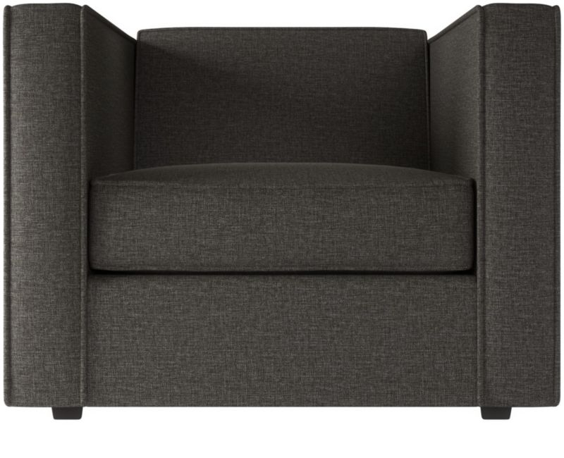 grey club chair | cb2
