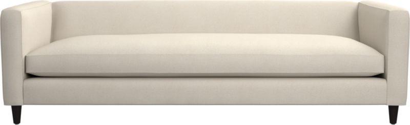 movie deep linen sofa cb2. Black Bedroom Furniture Sets. Home Design Ideas
