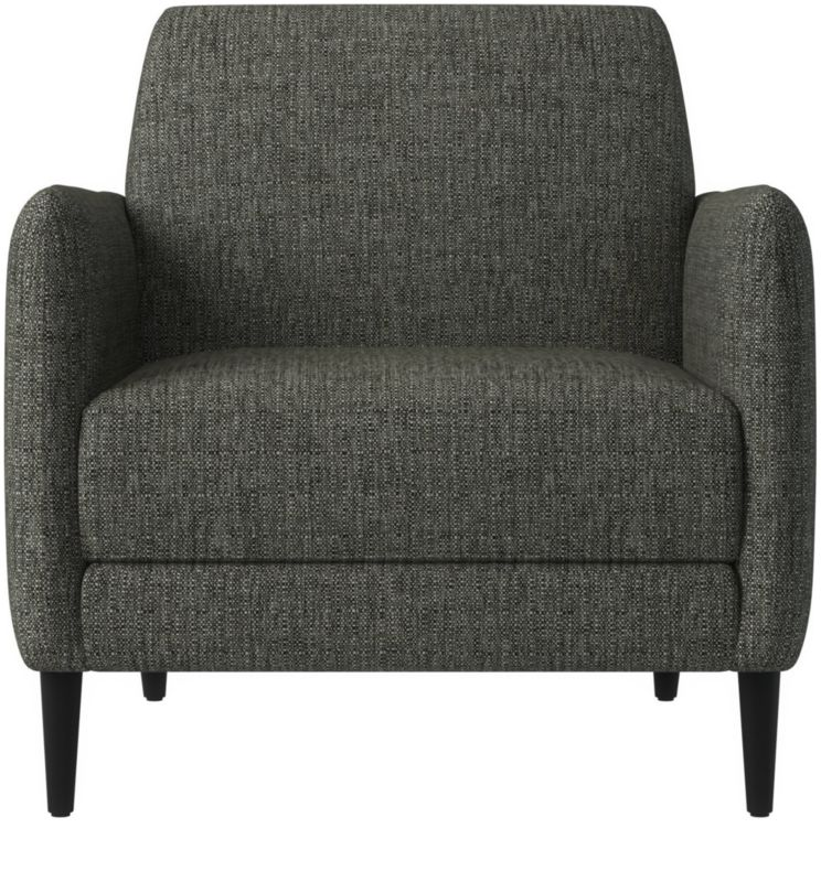 grey parlor chair | cb2