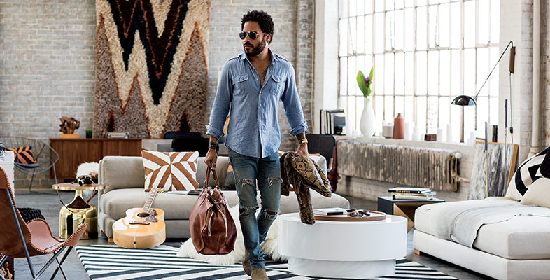 CB2 x Kravitz Design by Lenny Kravitz