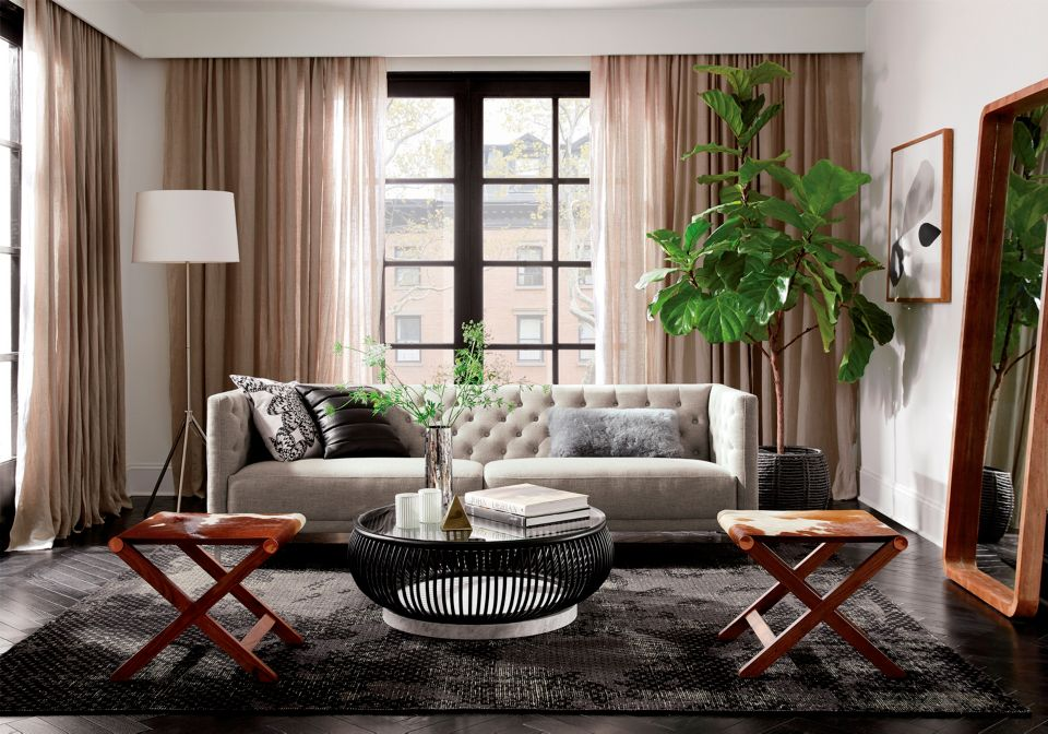 Living Room Makeover Captivating Living Room Makeover Ideas  Cb2 Blog Decorating Design