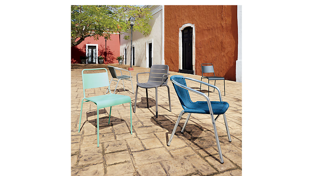 rex blue chair