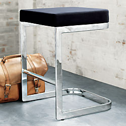 """mack suede 24"""" counter stool"""