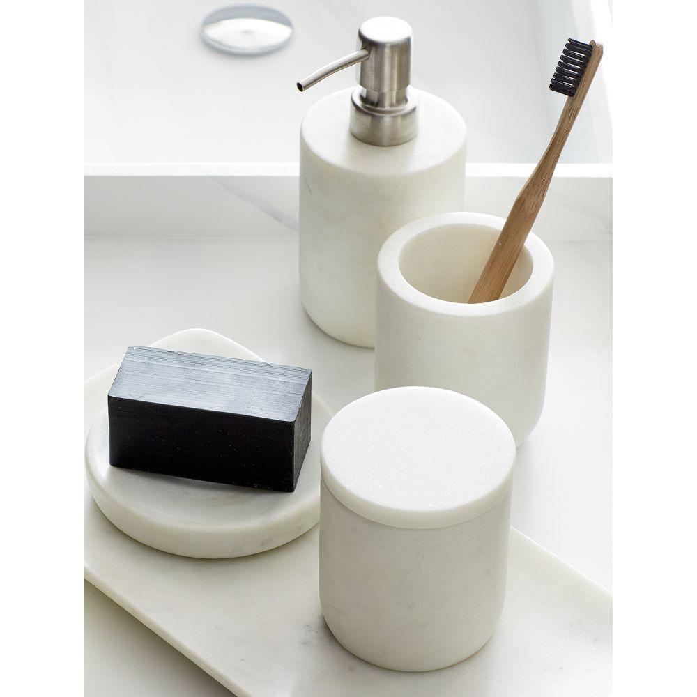 Online Designer Kitchen marble soap pump