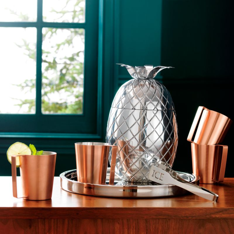 Modern Moscow mule mug