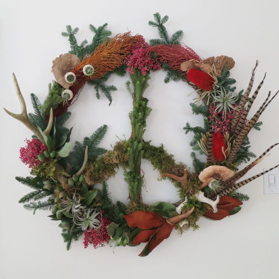 Diy Holiday Wreath Style Blog