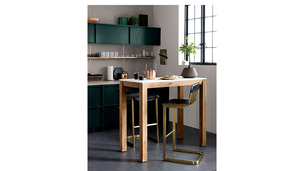Rake Brass 24 Quot Counter Stool Cb2