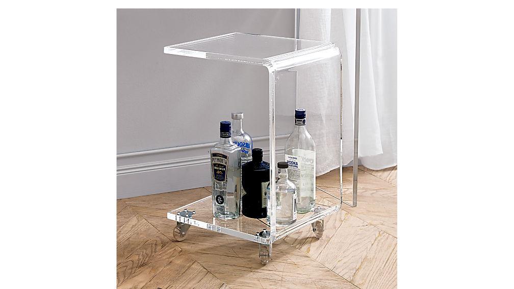 peekaboo acrylic c table