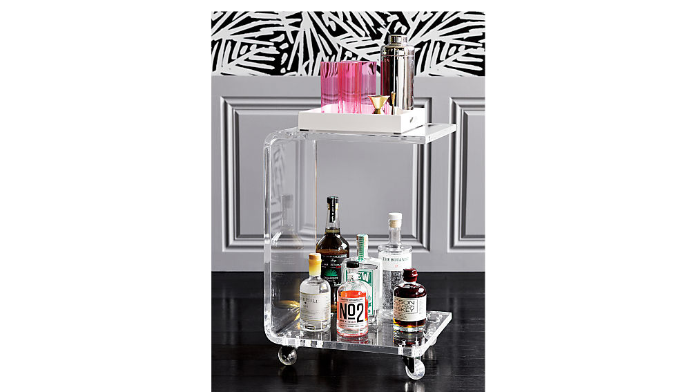 peekaboo acrylic c table