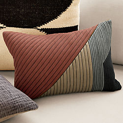 "18""x12"" pata pillow with down-alternative insert"