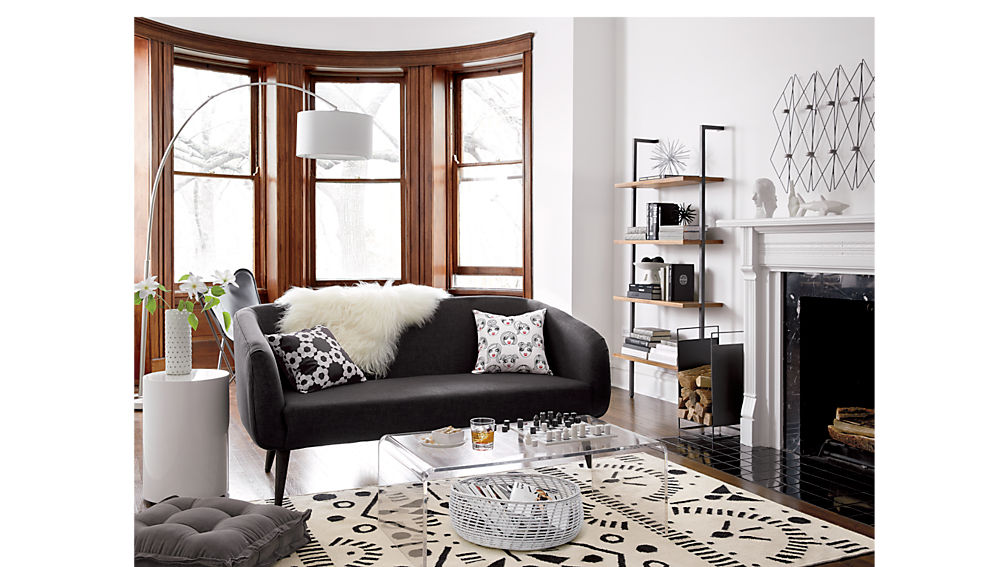 Amazing Excellent Peekaboo Acrylic Coffee Table Cb With Living Mbler Oslo  With Mbler Sofa With Dansk Design Mbler