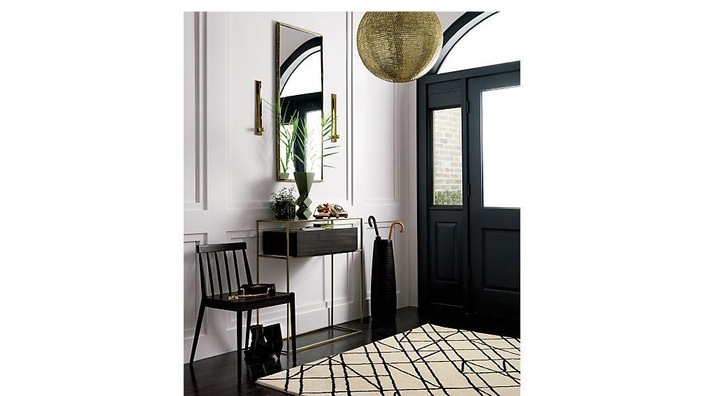 hemstad black chair