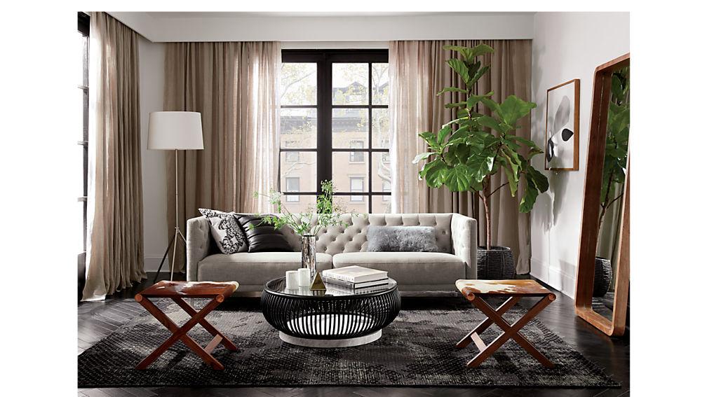 savile grey sofa
