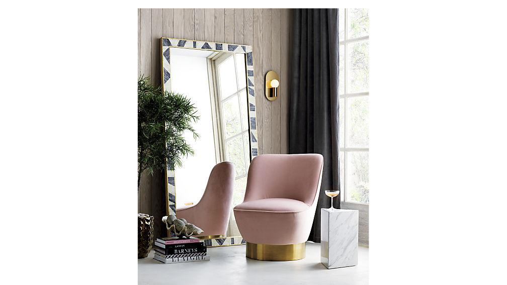Simone Blush Chair