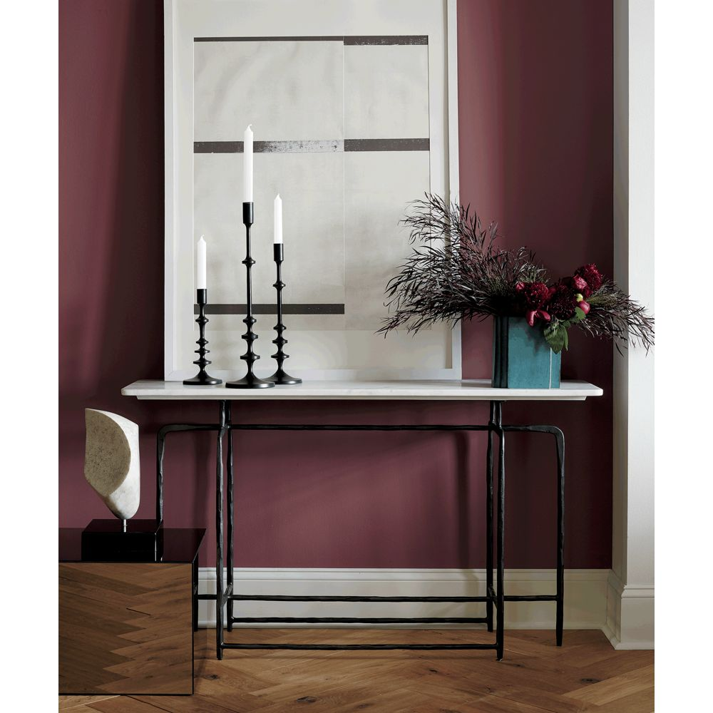 Online Designer Living Room Allis Black Taper Candle Holders Set of 3