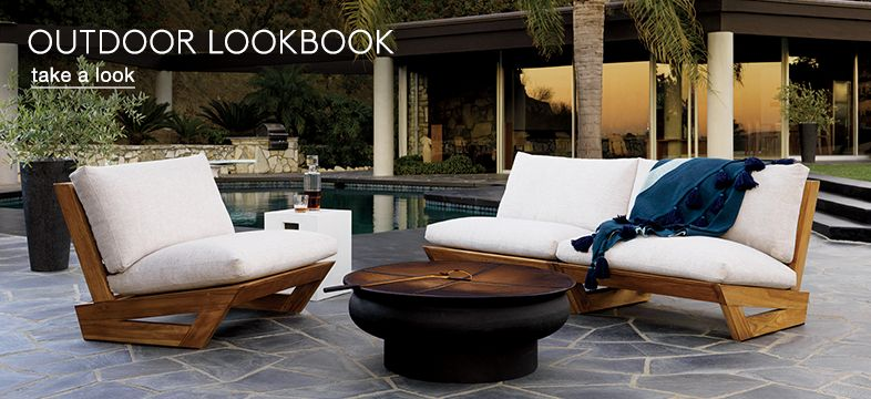 Outdoor Furniture Decor On Outdoor Collection Cb2 Unique Outdoor Furniture And Decor Cb2