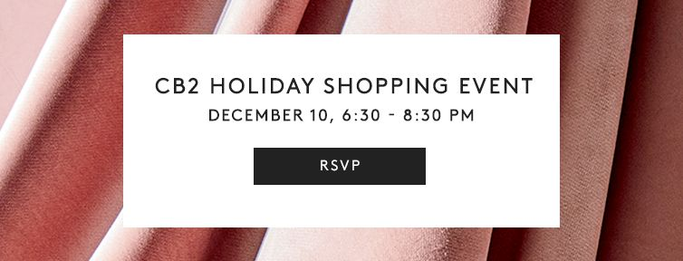 Join us for champagne, mini-manicures and custom gift tags, plus exclusive discounts.<br> December 10, 6:30-8:30 PM. Must be 19+ to consume alcohol.