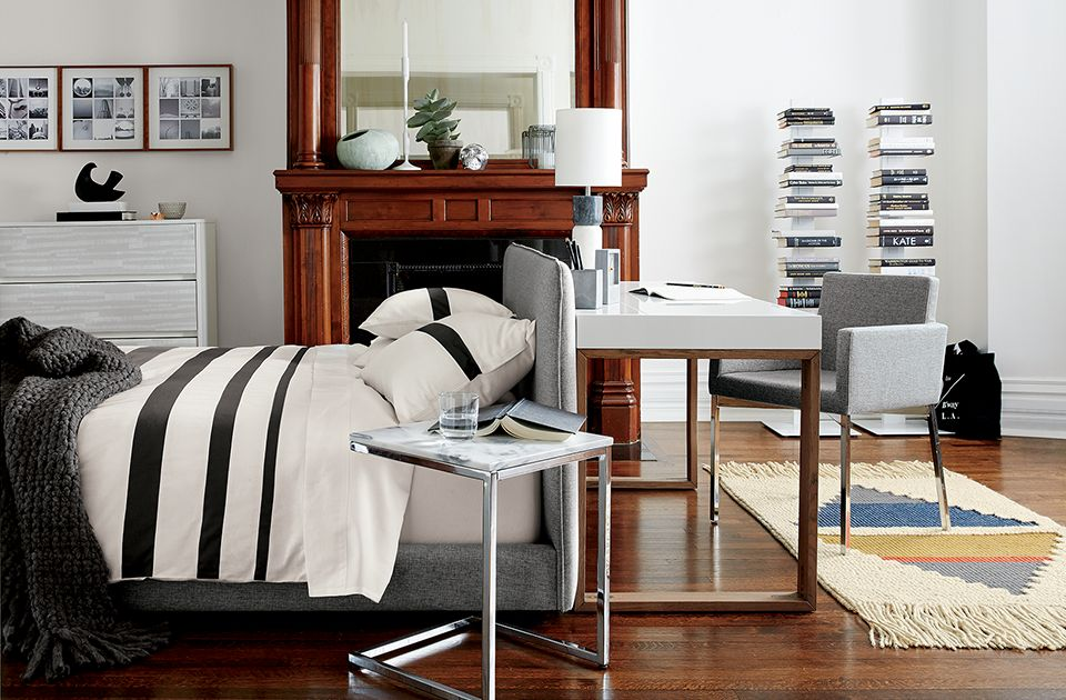 Small Bedroom Decorating Idea Central The Cb2 Blog