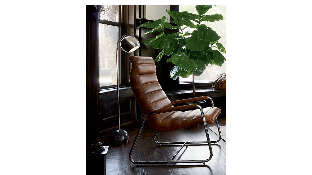 terreno leather chair