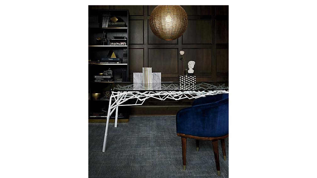 twig white desk-table