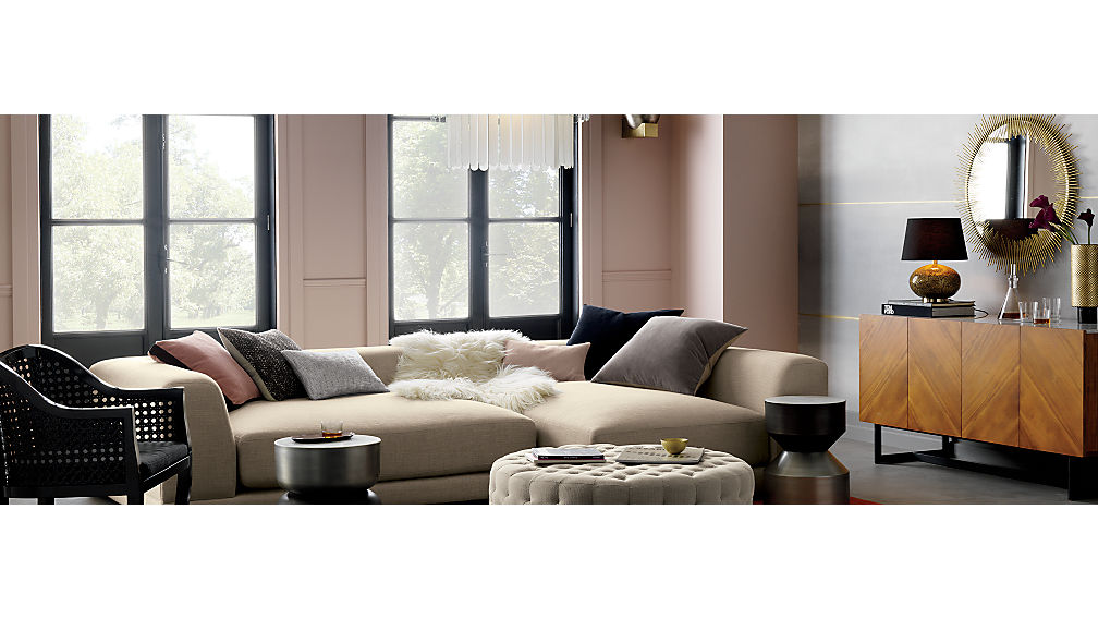 Uno 2 Piece Sectional Sofa Cb2  sc 1 st  Sofa Hpricot.com : cb2 sectional sofa - Sectionals, Sofas & Couches