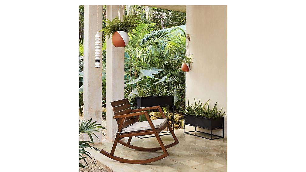 valalta rocking chair with cushion