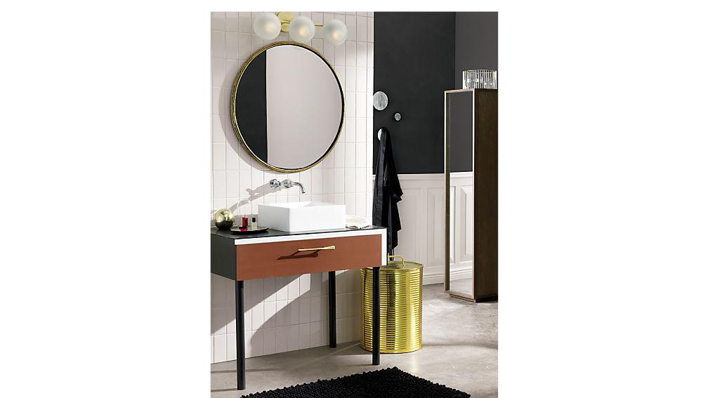 reflection bath cabinet
