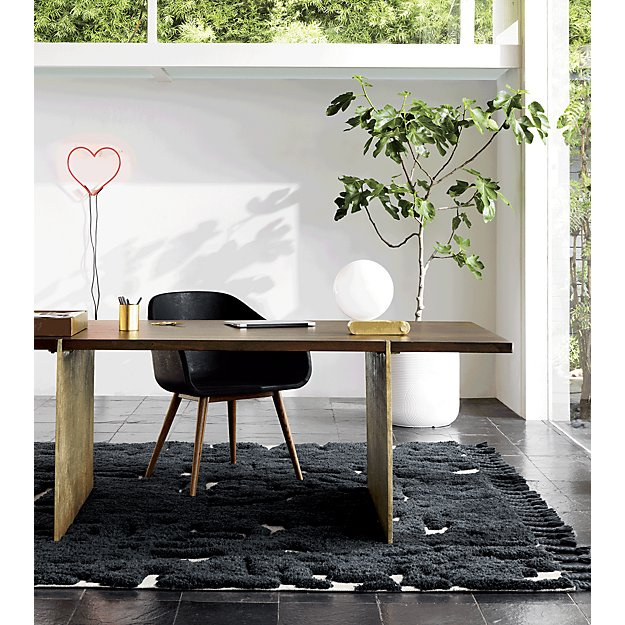 desk in small bedroom zen planters cb2 15154