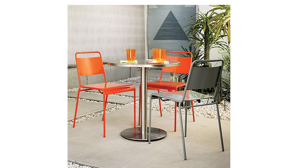 watermark bistro table